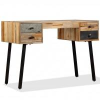 Schreibtisch Wiederverwertetes Teak Massivholz 110 × 50 × 76 cm