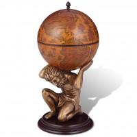 Globus-Bar Atlas 42×42×85 cm