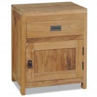 Nachttisch Massivholz Teak 40×30×50 cm