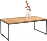 HomeTrends4You Couchtisch Java 3 110x43x60 cm in Wildeiche massiv