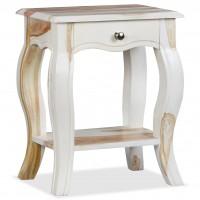 Nachttisch Massives Sheesham-Holz 40 x 30 x 50 cm