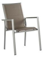 STERN® - Stapelsessel Sandy, Aluminium graphit (2er-Set)