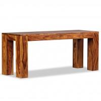 Sitzbank Sheesham Massivholz 110x35x45 cm