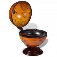 Globus-Minibar Flaschenregal Holz