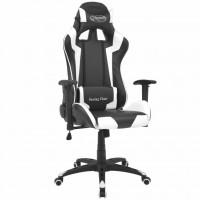 Bürostuhl Gaming-Stuhl Neigbar Kunstleder Weiß