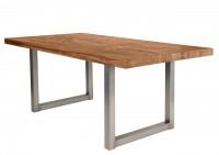 Tisch 180x100 cm, Balkeneiche natur