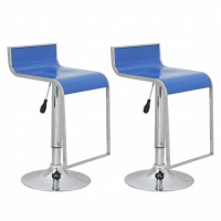 Barhocker St. Paul (2er Set) blau