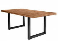 Tisch 200x100 cm, Balkeneiche natur