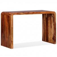 Sideboard/Schreibtisch Massives Sheesham-Holz Braun