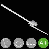 WOHNLING LED-Deckenlampe AMBAR 2-flammige Wohnzimmerlampe in Stäbchen-Design 150 cm A+