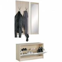 WOHNLING Gaderobe mit Spiegel