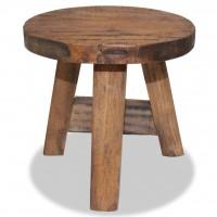 Sitzhocker Recyceltes Massivholz 20 x 20 x 23 cm