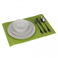 Wohnling 4er Set Platzset dunkelgrün