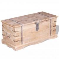 Aufbewahrungstruhe Akazienholz