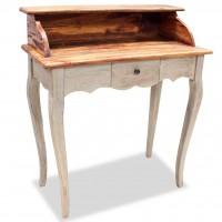 Schreibtisch Altholz Massiv 80 x 40 x 92 cm