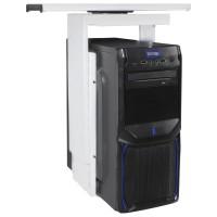 AMSTYLE® PC-Halter 360° drehbar Universal Computerhalterung 46 - 68 cm weiß