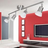 WOHNLING LED-Spot 4-flammig CLARA Deckenstrahler Lampe Dimmbar A+ Warmweiß 16 Watt