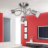 WOHNLING LED-Spot 3-flammig CLARA Deckenstrahler Lampe Dimmbar A+ Warmweiß 12 Watt