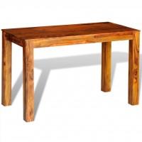 Esszimmertisch Massivholz Sheesham 120×60×76 cm