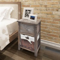 Nachttisch Holz Braun