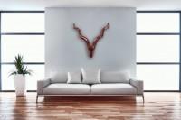 Wohnling Deko Geweih Deer M - 65 cm