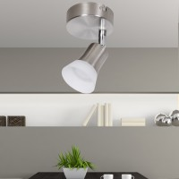 WOHNLING LED-Spot 1-flammig CLARA Deckenstrahler Dimmbar Lampe A+ Warmweiß 4 Watt