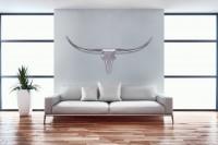 Wohnling Deko Geweih Bull L - 125 cm
