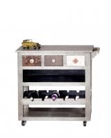 METAL & BONE Küchenwagen