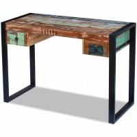 Schreibtisch Recyceltes Massivholz