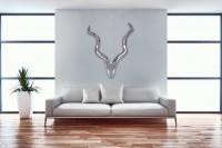 Wohnling Deko Geweih Deer L - 80 cm