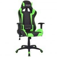 Bürostuhl Gaming-Stuhl Neigbar Kunstleder Grün