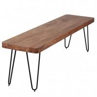 Wohnling Akazie Sitzbank BAGLI 160 x 40 cm