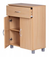 WOHNLING Sideboard LENA mit 2 Türen & 1 Schublade