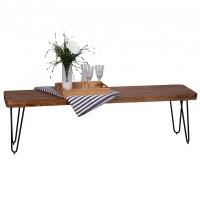 Wohnling Sheesham Sitzbank BAGLI 160 x 40 cm